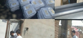 اهدای غذا به خانواده های تحت پوشش در عید غدیر خم