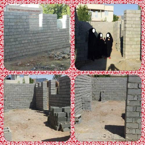 فراخوان کمک هزینه ساخت مسکن یک مادر و دو دختر دوقلو ۱۰ ساله