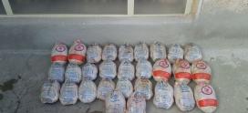 مرغ اهدایی توسط خیر بزرگوارمان